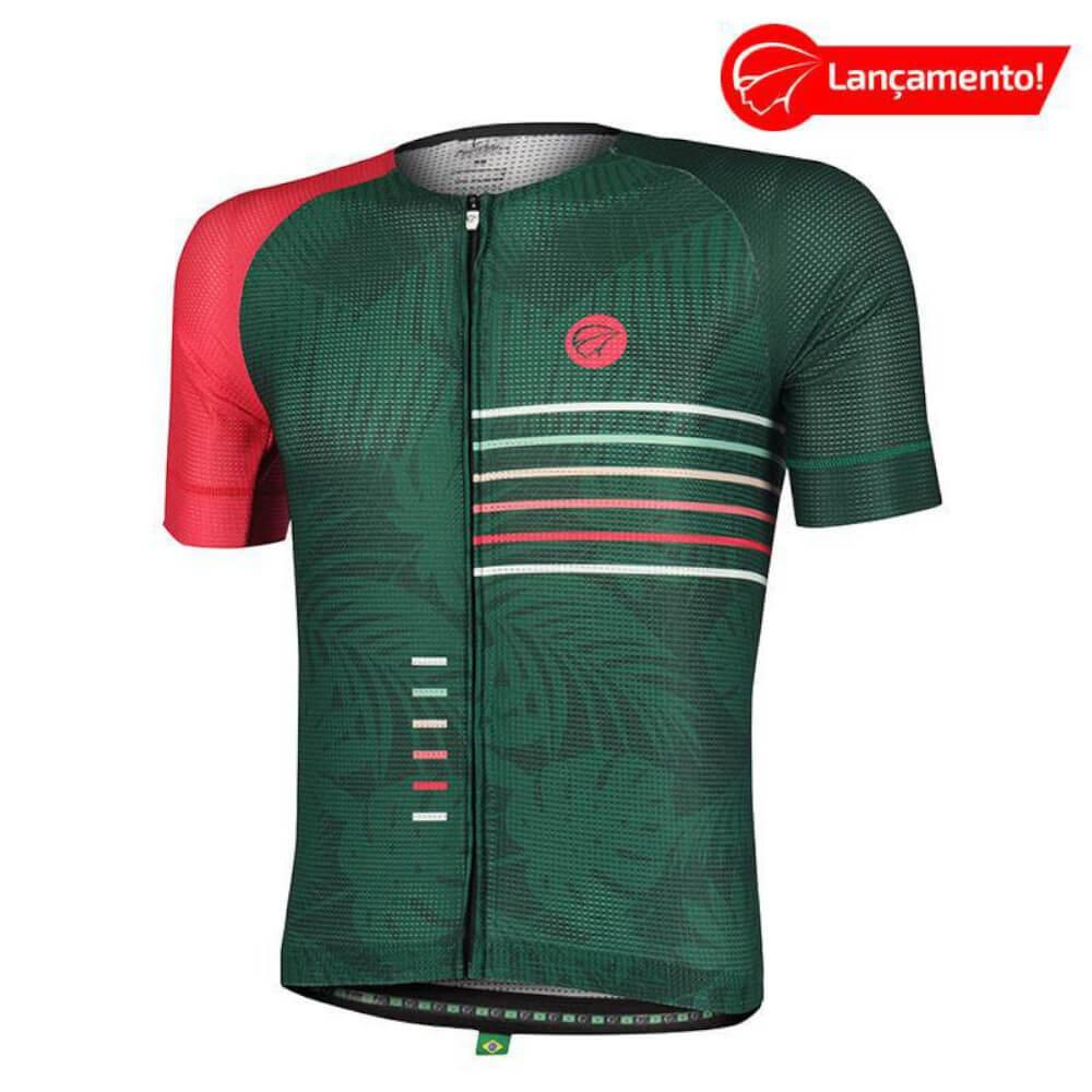 Camisa Ciclismo Mauro Ribeiro Masculino Energy Verde