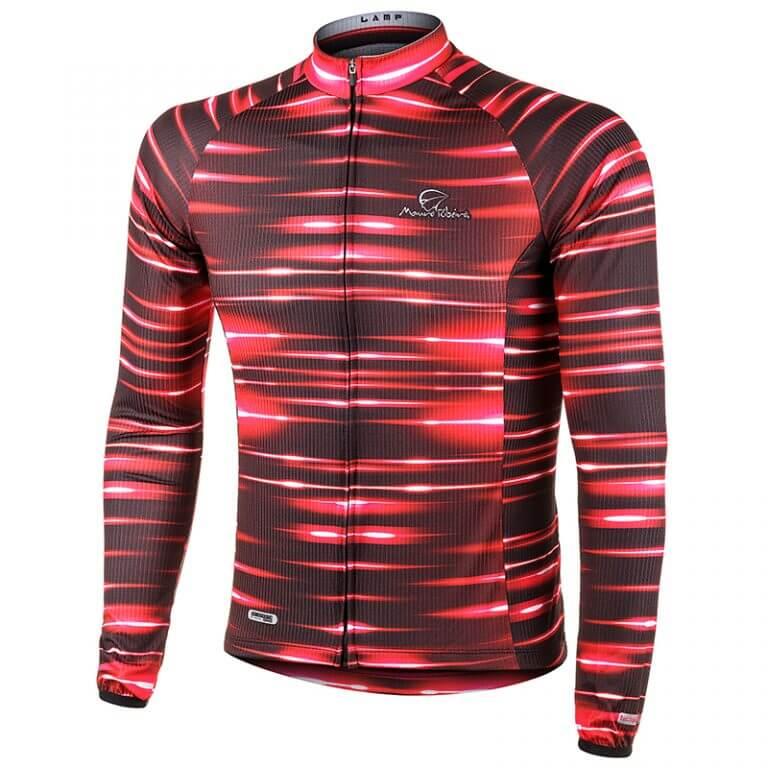 Camisa de Ciclismo Manga Longa Mauro Ribeiro Lamp