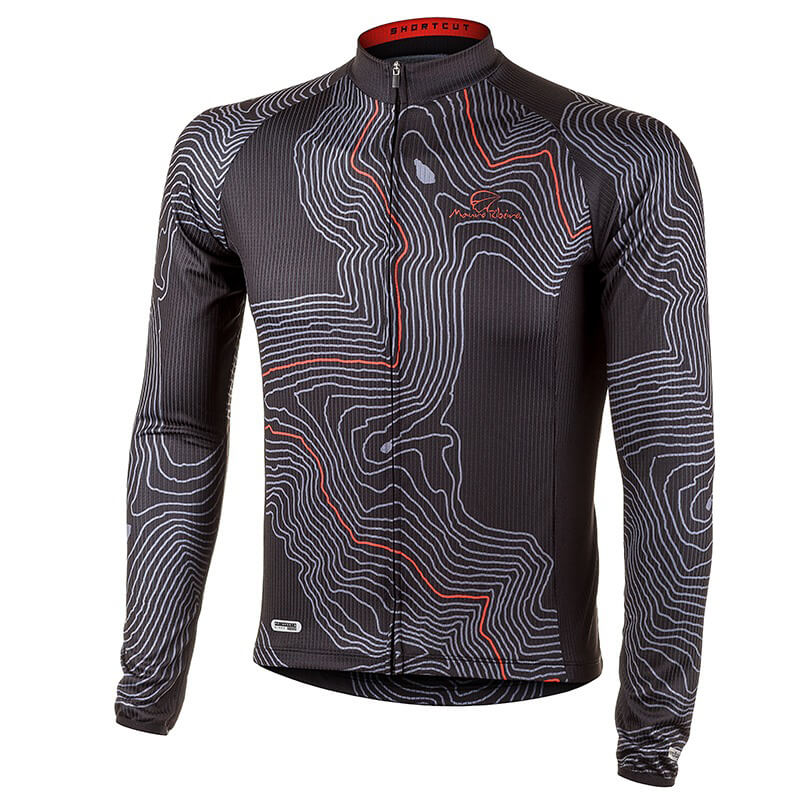 Camisa de Ciclismo Manga Longa Mauro Ribeiro Short Cut