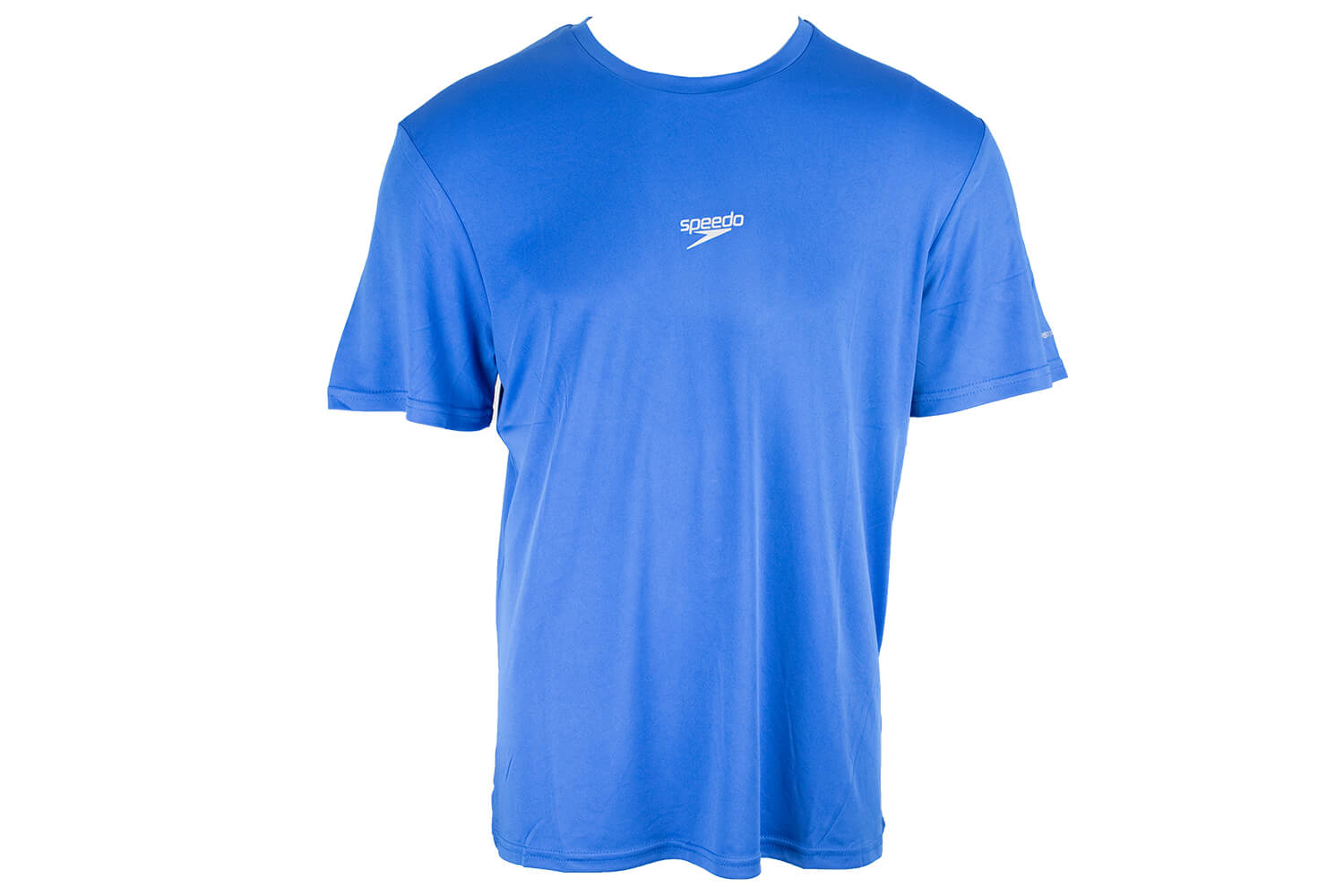 Camiseta Básica Corrida Speedo Interlock UV50 Azul