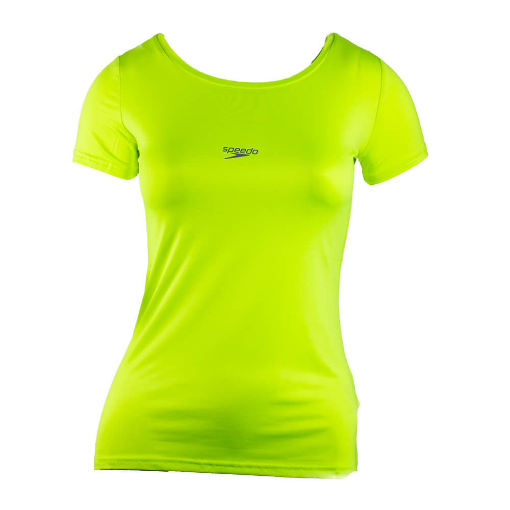 Camiseta Básica Feminina Stretch Limonada