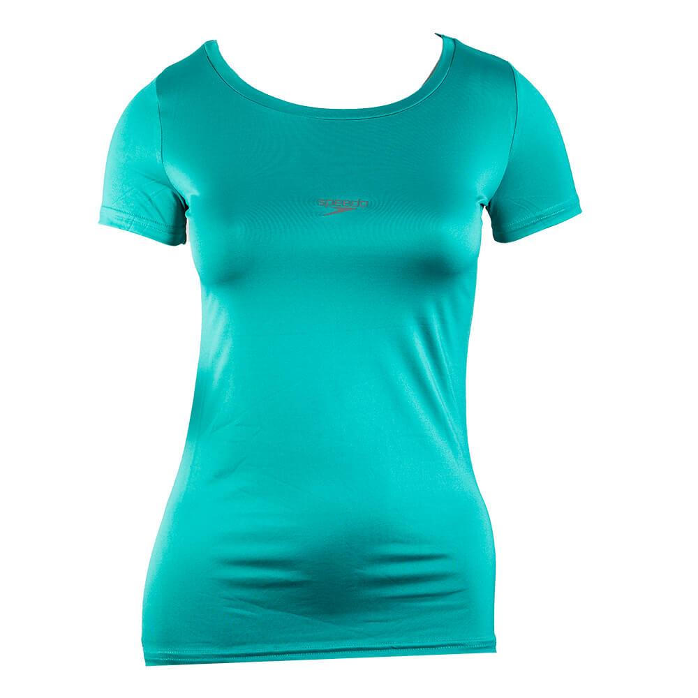 Camiseta Básica Stretch Feminina Acqua