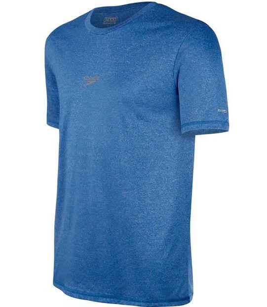 Camiseta Speedo Masculina Blend Mescla Azul