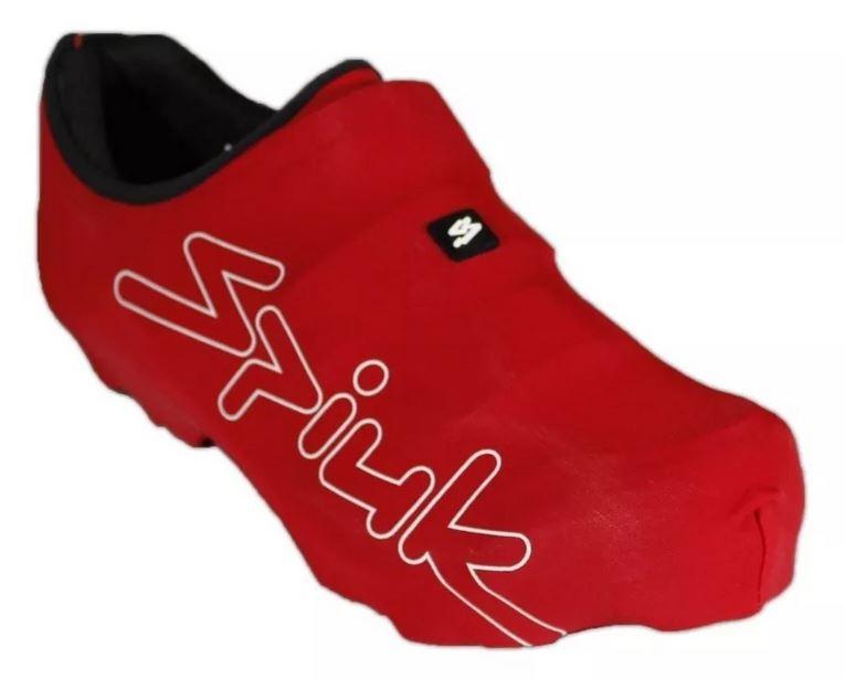 Capa de Lycra Proteção Sapatilha Ciclismo Marca Spiuk Vermel