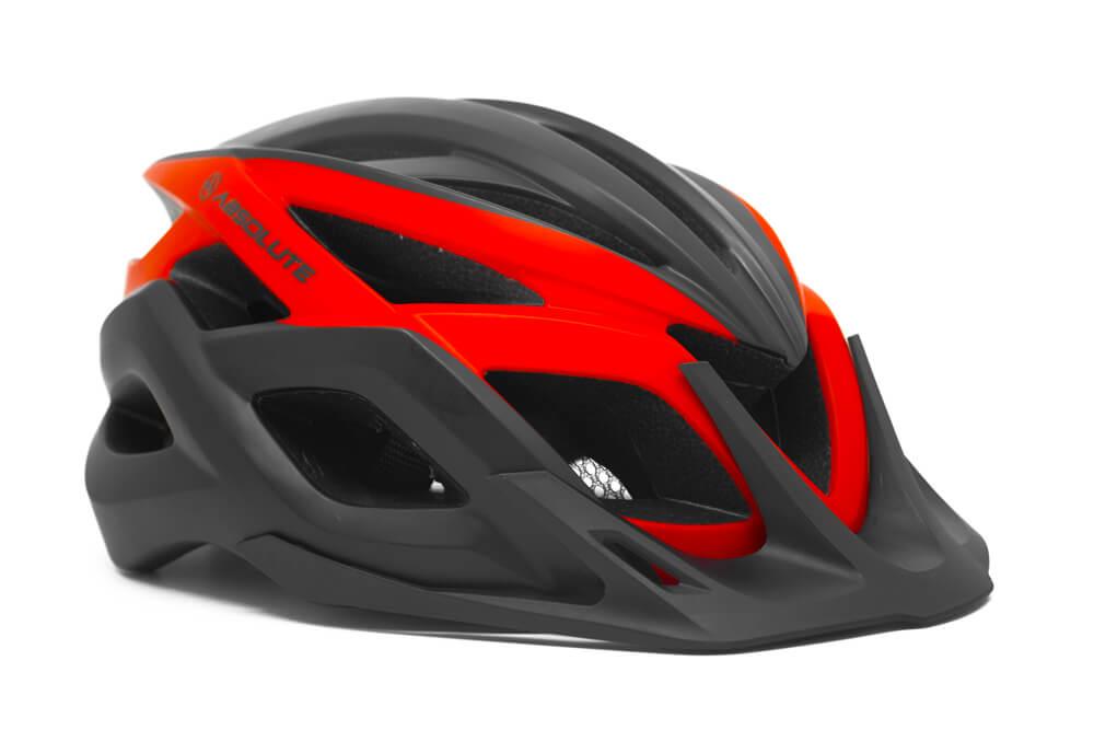 Capacete Ciclismo Absolute Wild Flash Com Led Pto E Vermelho