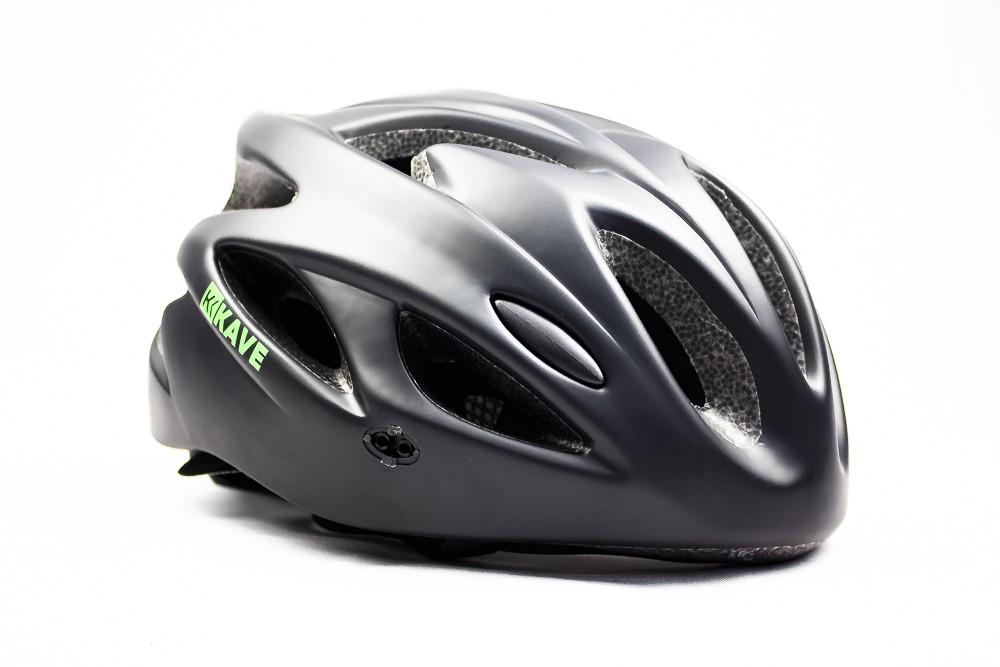 Capacete Ciclismo Bike Mtb Kave Revo Com Led + Aba Preto