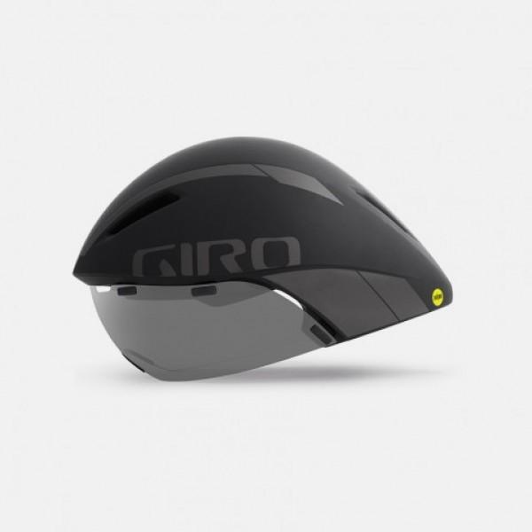 Capacete Ciclismo Giro Aerohead Mips Preto e Titânio
