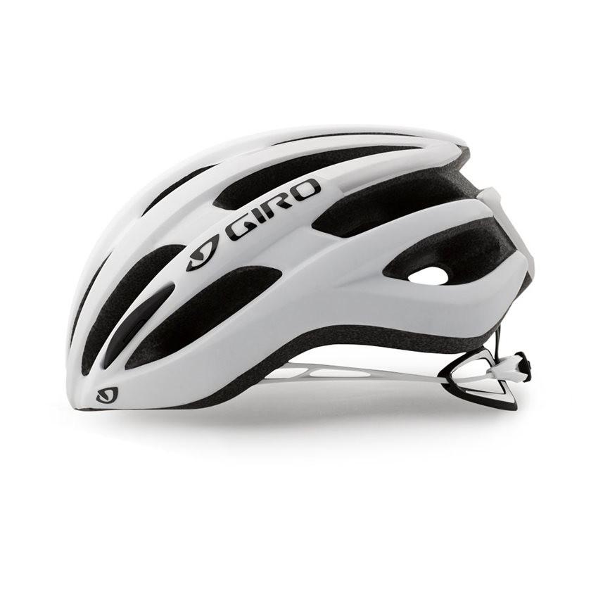 Capacete Ciclismo Giro Foray Branco Fosco