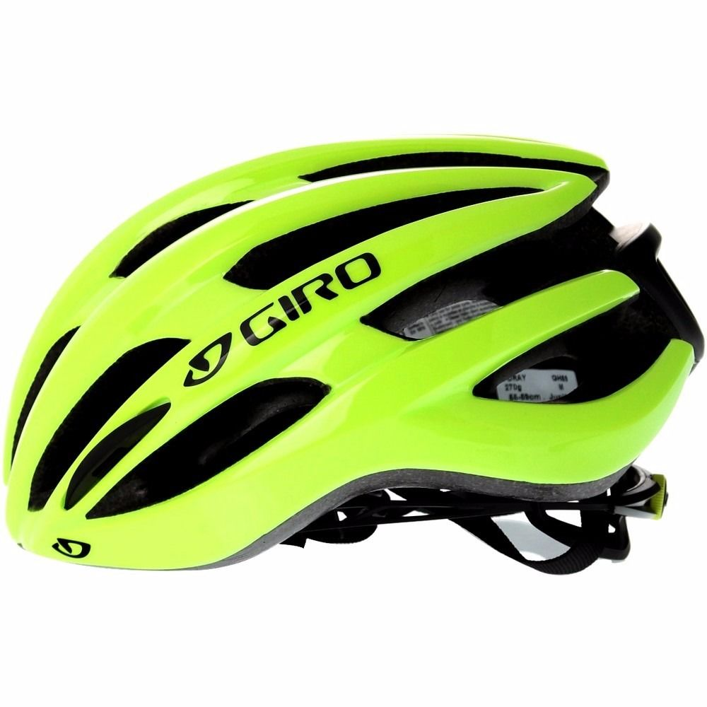 Capacete Ciclismo Giro Foray Mips Amarelo Flúor
