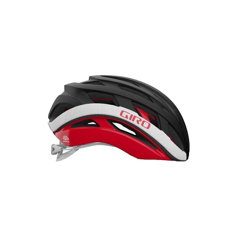 Capacete Ciclismo Giro Helios Spherical Preto e Vermelho