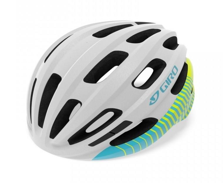 Capacete Ciclismo Giro Isode Branco e Azul