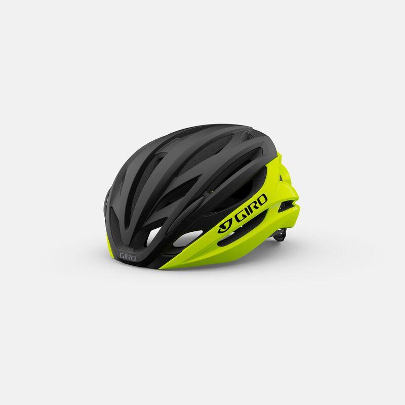 Capacete Ciclismo Giro Sintax Mips Amarelo Neon e Preto