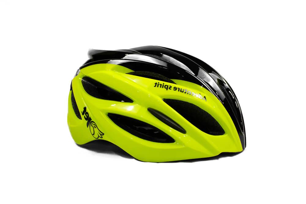 Capacete Ciclismo Jet Adventure Hornet Amarelo Neon Preto