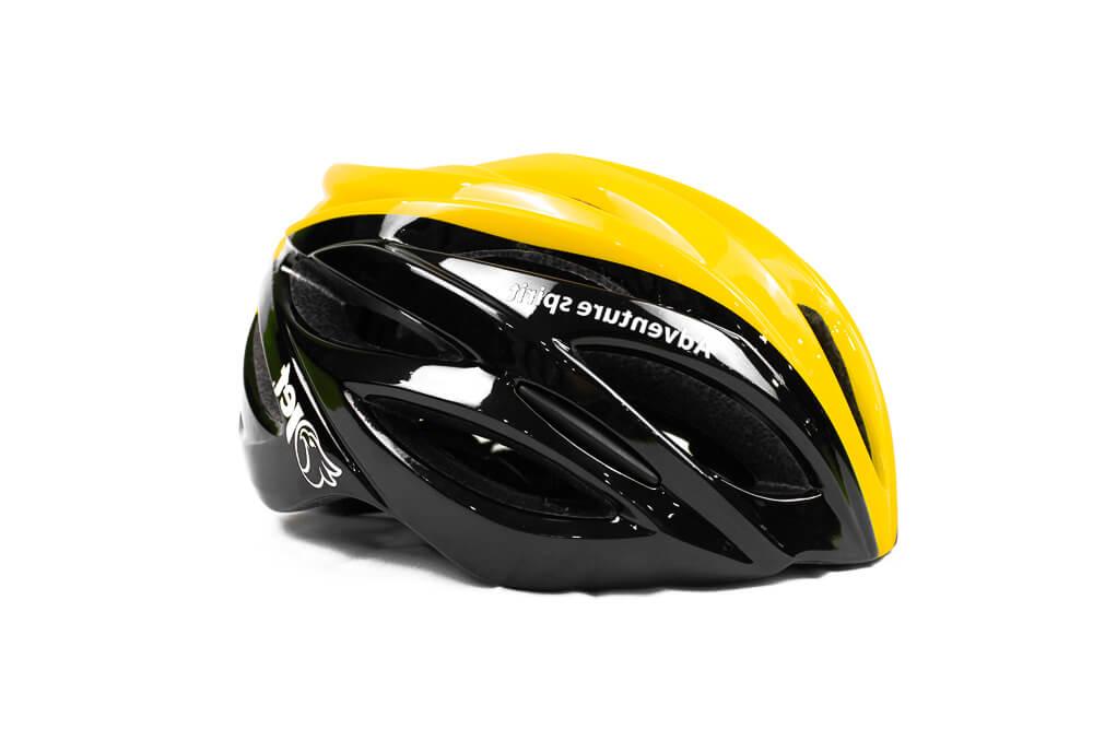 Capacete Ciclismo Jet Adventure Hornet Preto Amarelo