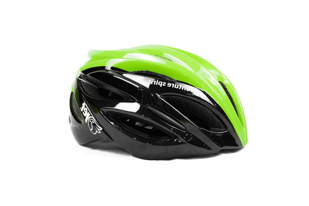 Capacete Ciclismo Jet Adventure Hornet Preto Verde Neon