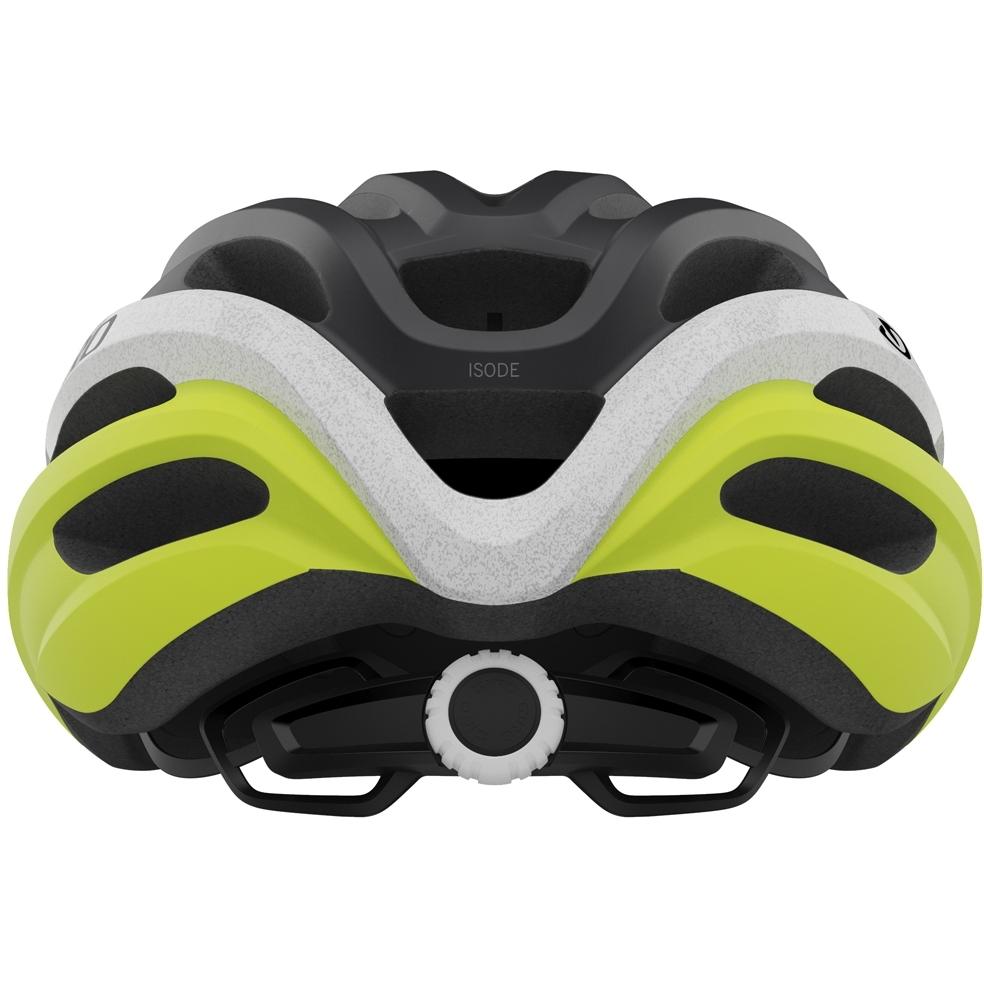 Capacete Ciclismo MTB Giro Isode Preto Branco Amarelo