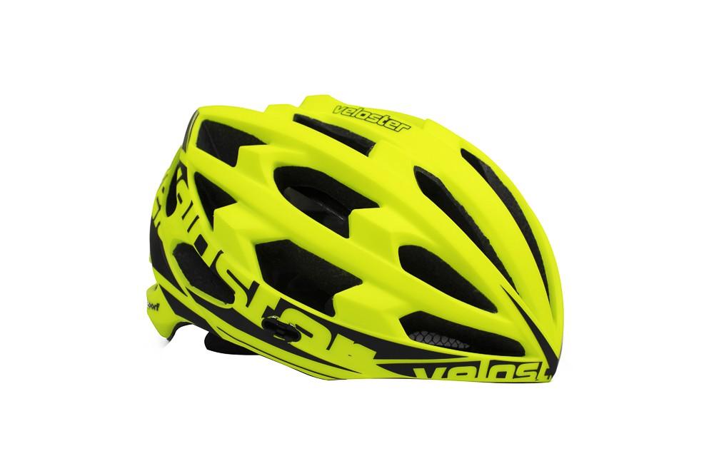 Capacete Ciclismo Polisport Veloster Amarelo Fluor