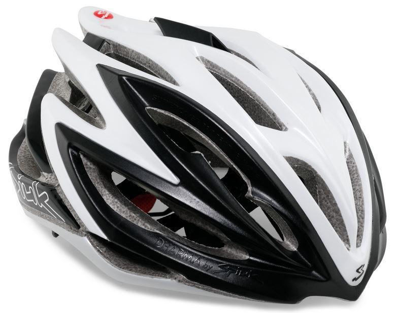 Capacete Ciclismo Spiuk Dharma Preto e Branco