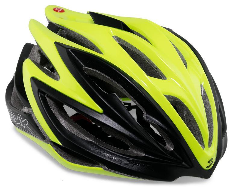 Capacete Ciclismo Spiuk Dharma Verde e Preto