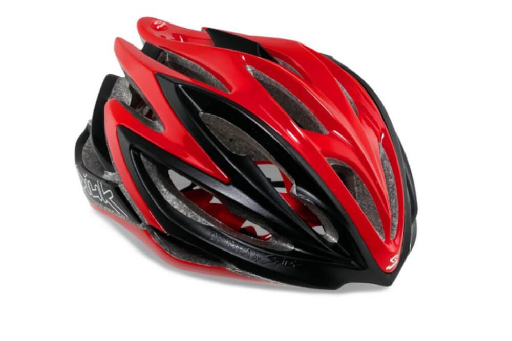 Capacete Ciclismo Spiuk Dharma Vermelho e Preto