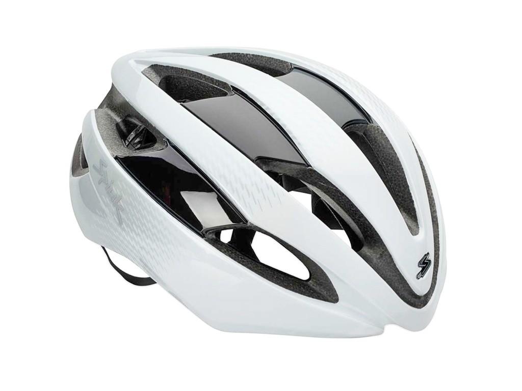 Capacete Ciclismo Spiuk Eleo Branco Prata Tamanho ml 53-61cm