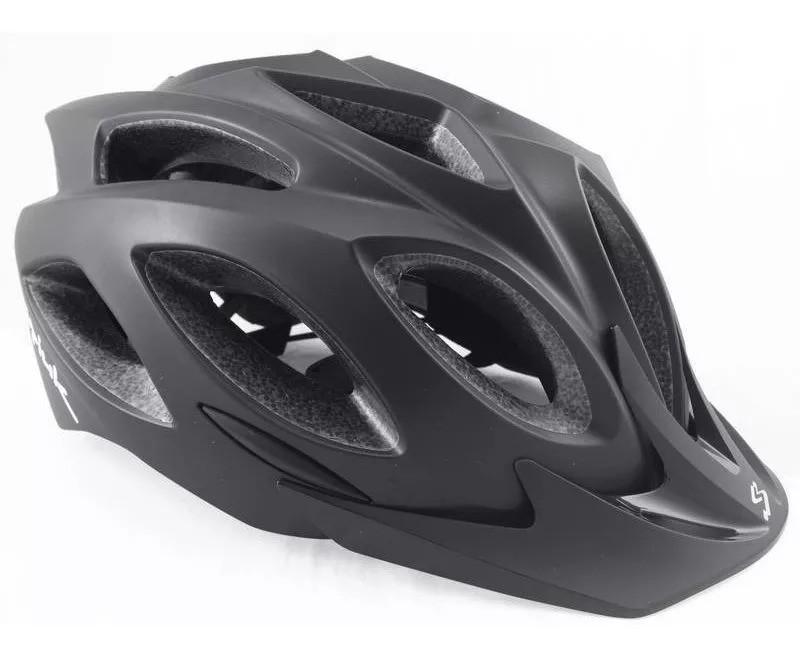 Capacete Ciclismo Spiuk Rhombus Preto Fosco 58-62