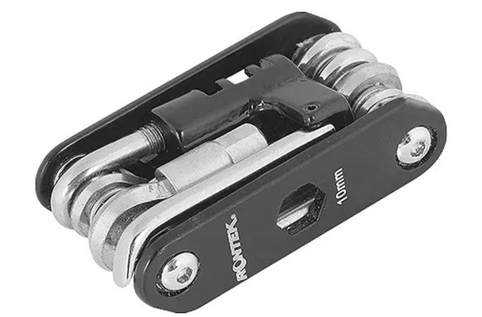 Chave Canivete Multi-Uso Para Bicicleta Rontek 14 Funções