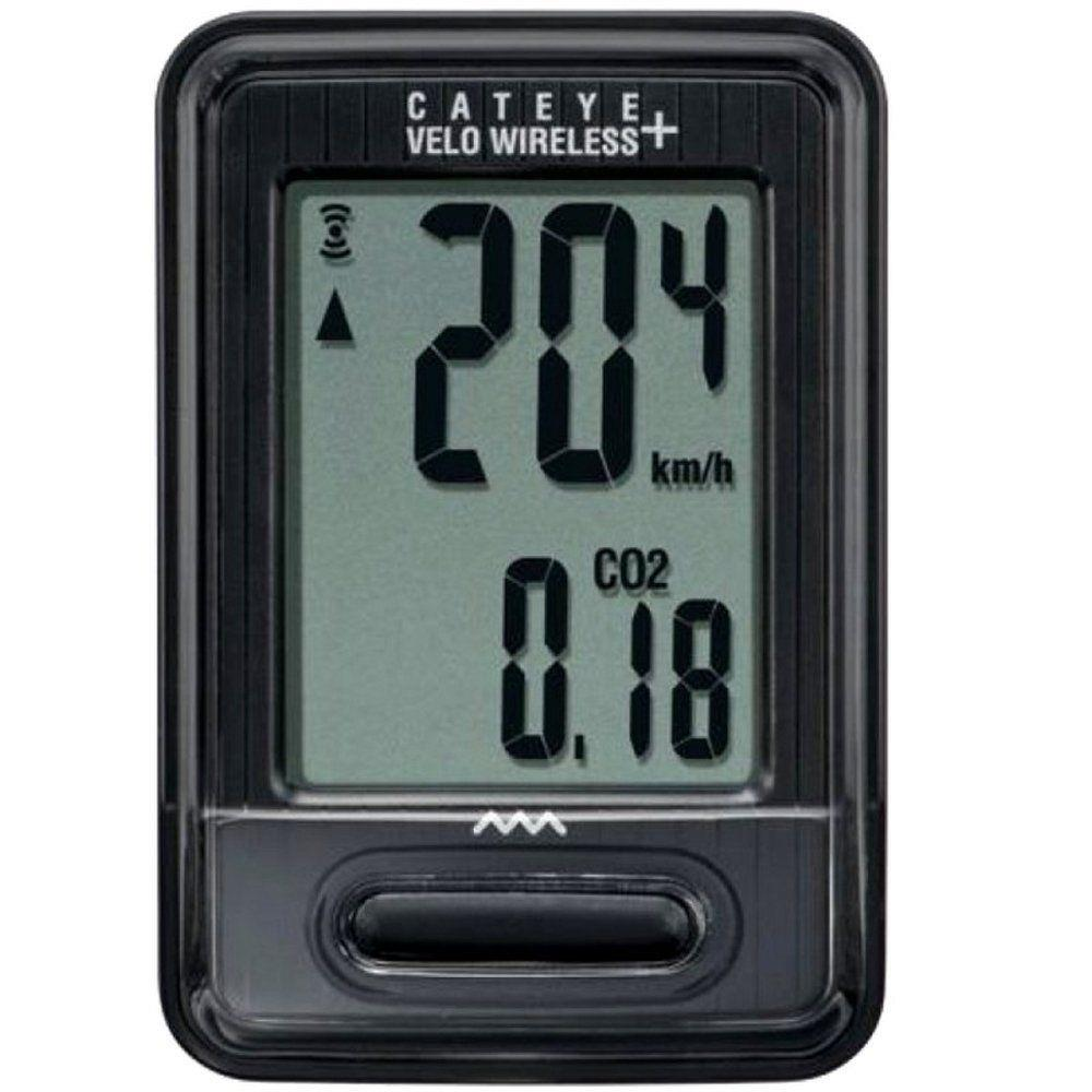Ciclocomputador Cateye Velo CC VT235W Wireless 8 Funções