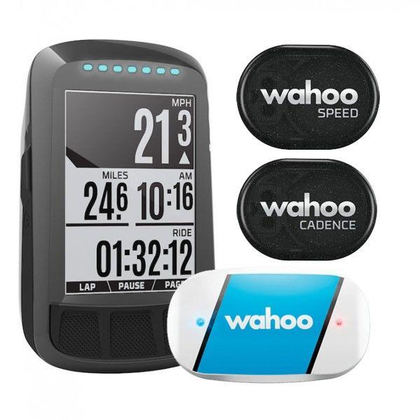 Ciclocomputador com GPS Wahoo Elemnt Bolt Bundle