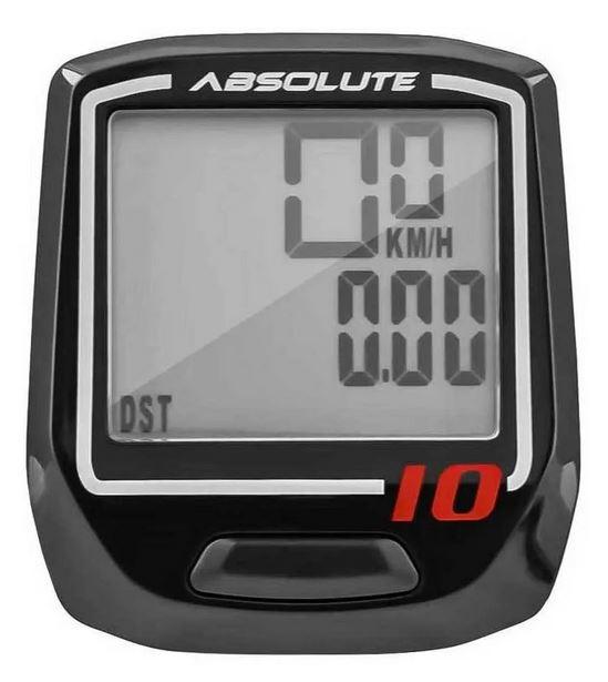 Ciclocomputador Velocímetro Bike Irix 10 Funções Absolute
