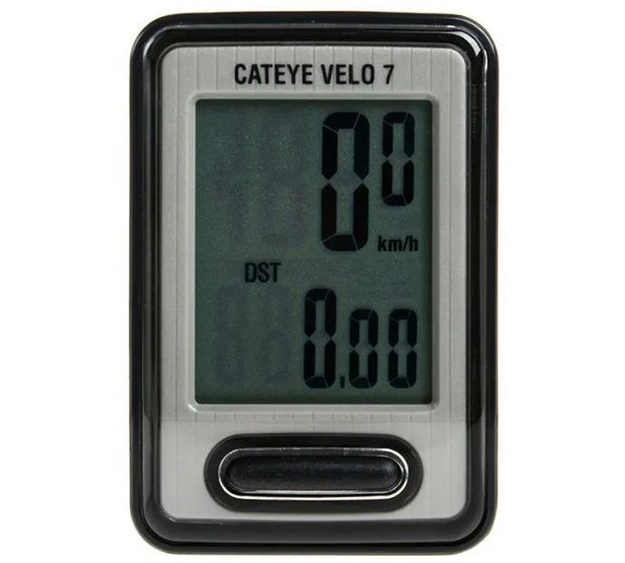 Ciclocomputador Velocímetro Cateye Velo 7 CC VL520