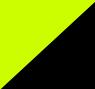 Preta e Amarelo Neon