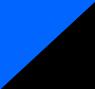 Preto com Azul