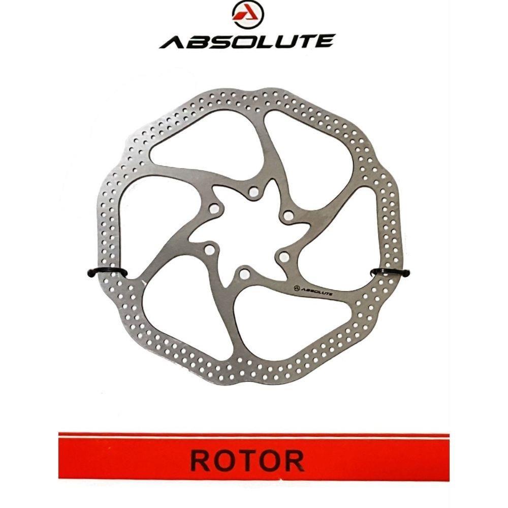 Disco de Freio Rotor Absolute YRT01 160mm 6 Furos