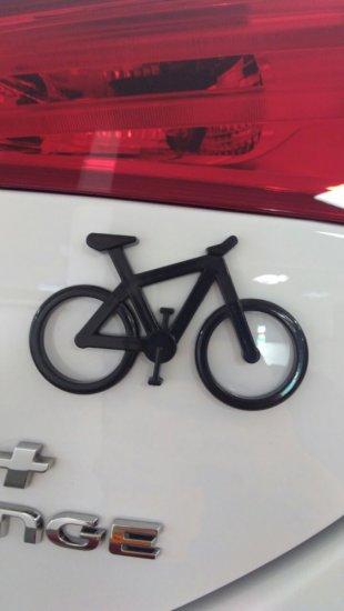 Emblema Ictus Bicicleta Preto com Imã