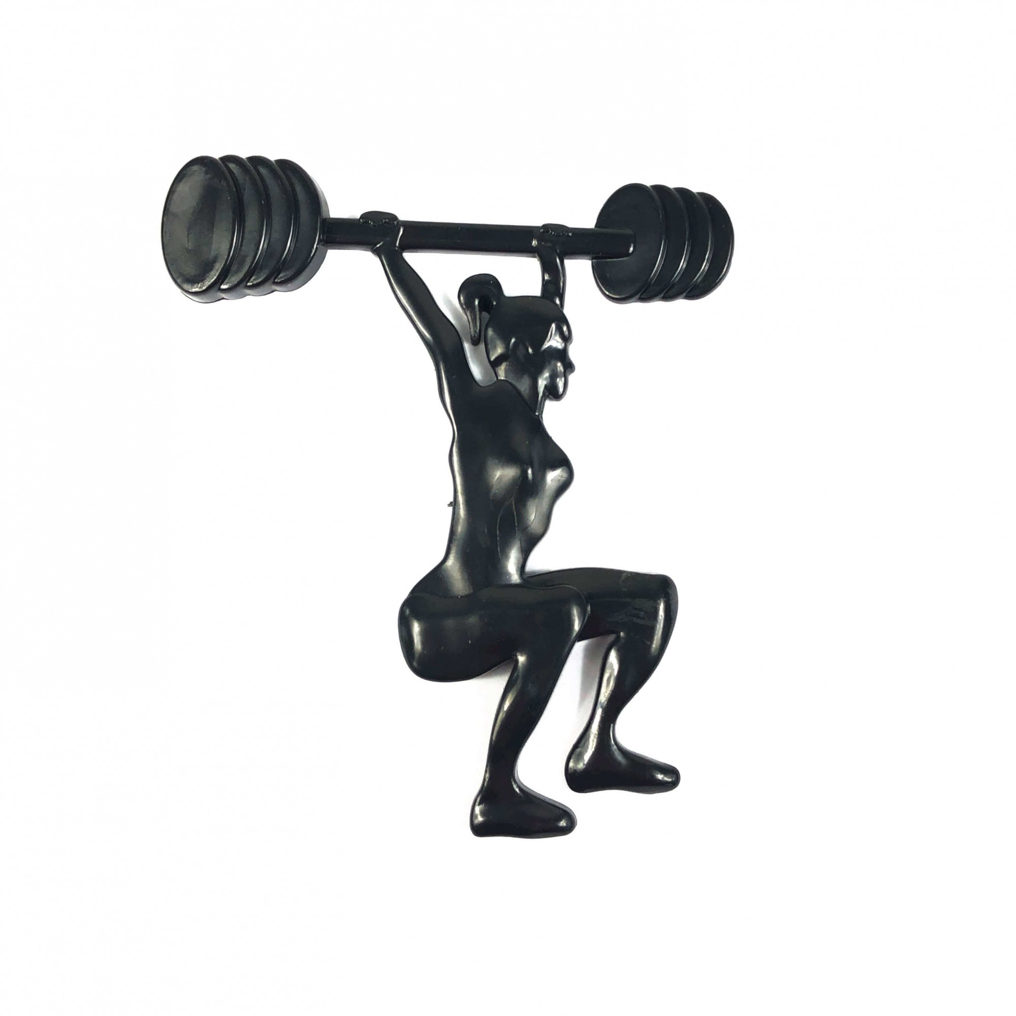 Emblema Ictus Exercício Funcional Cor Preto com Imã