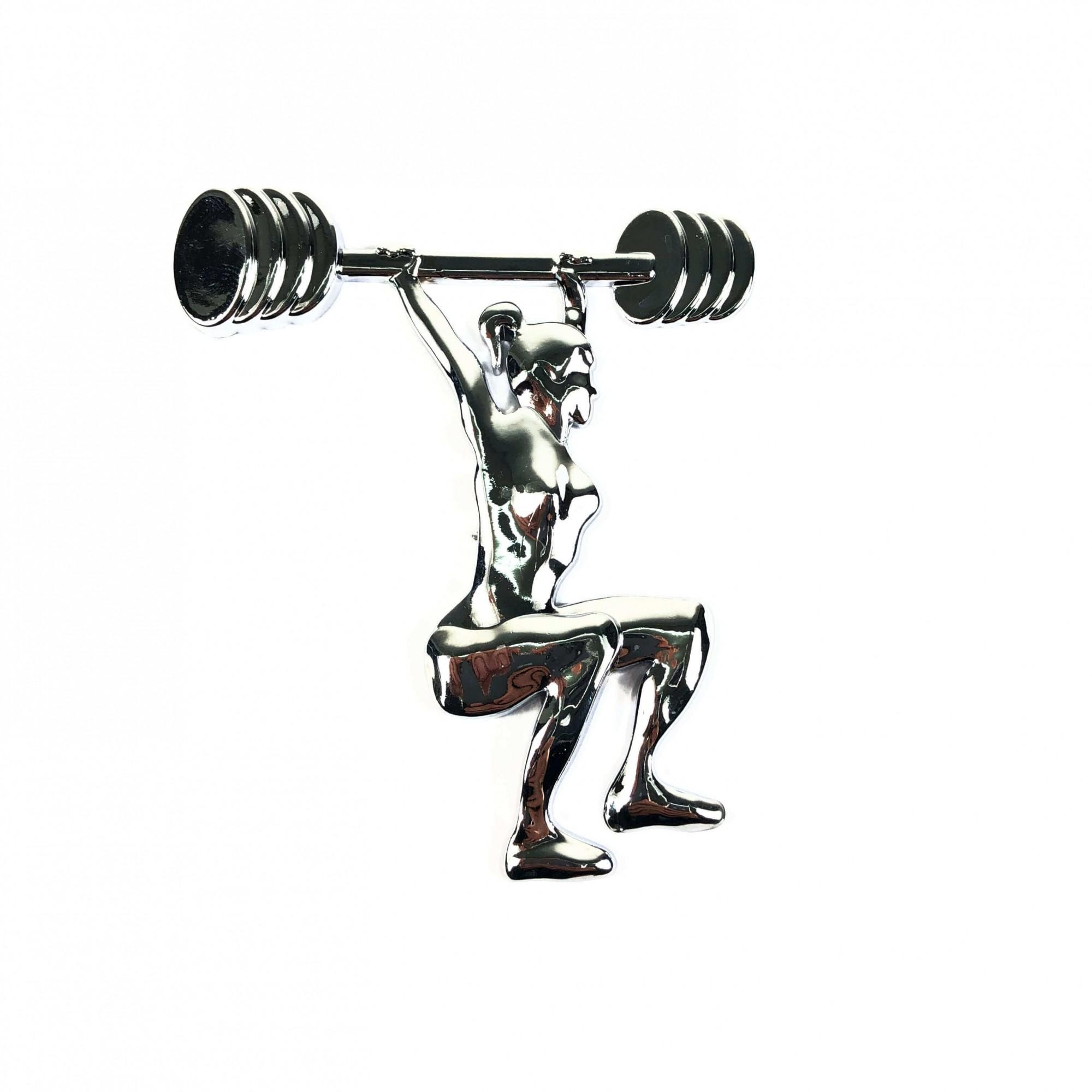 Emblema Ictus Exercício Funcional Cromado com Imã