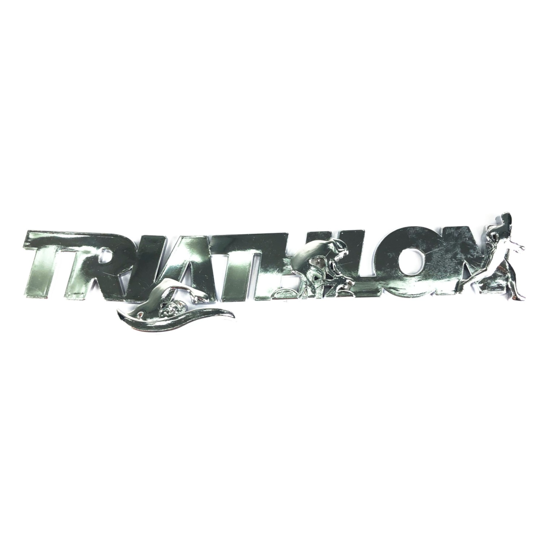 Emblema Ictus Triathlon Cromado com Imã