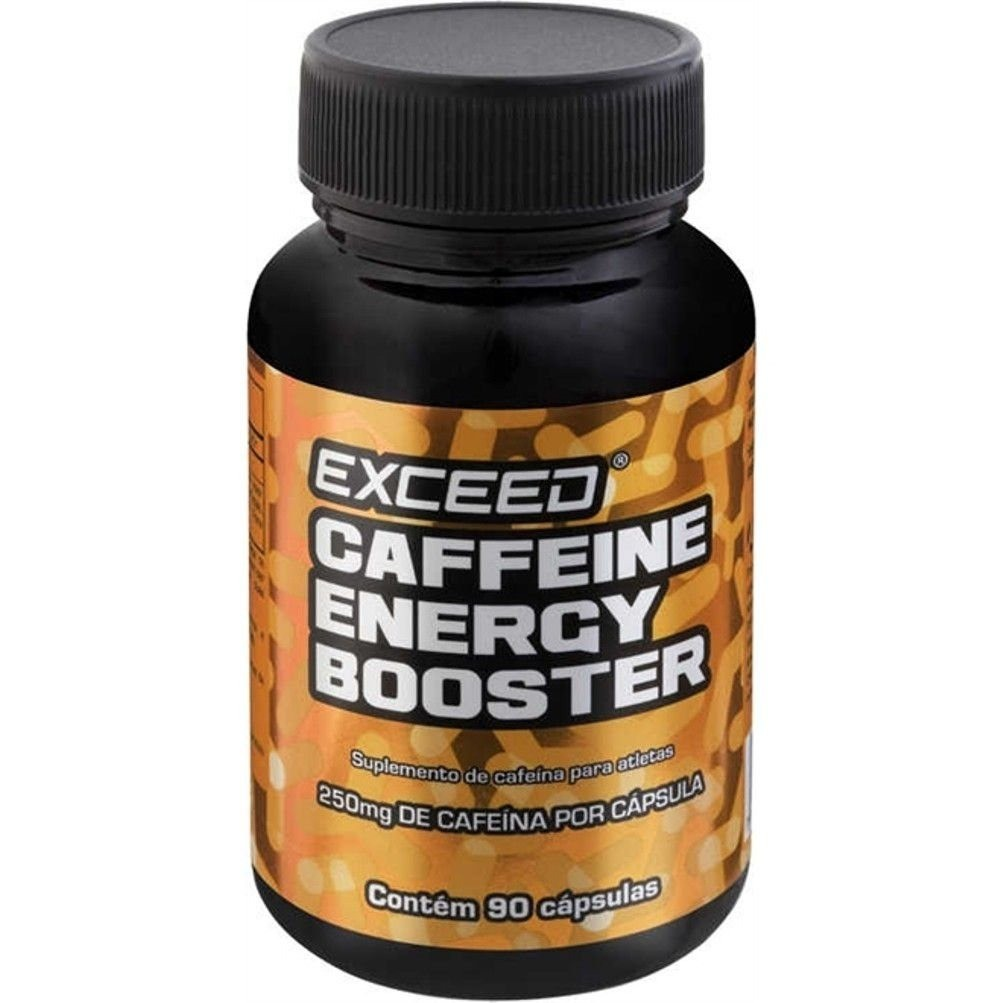 Exceed Energy Booster Caps 250mg de Cafeína em Cápsulas 90un