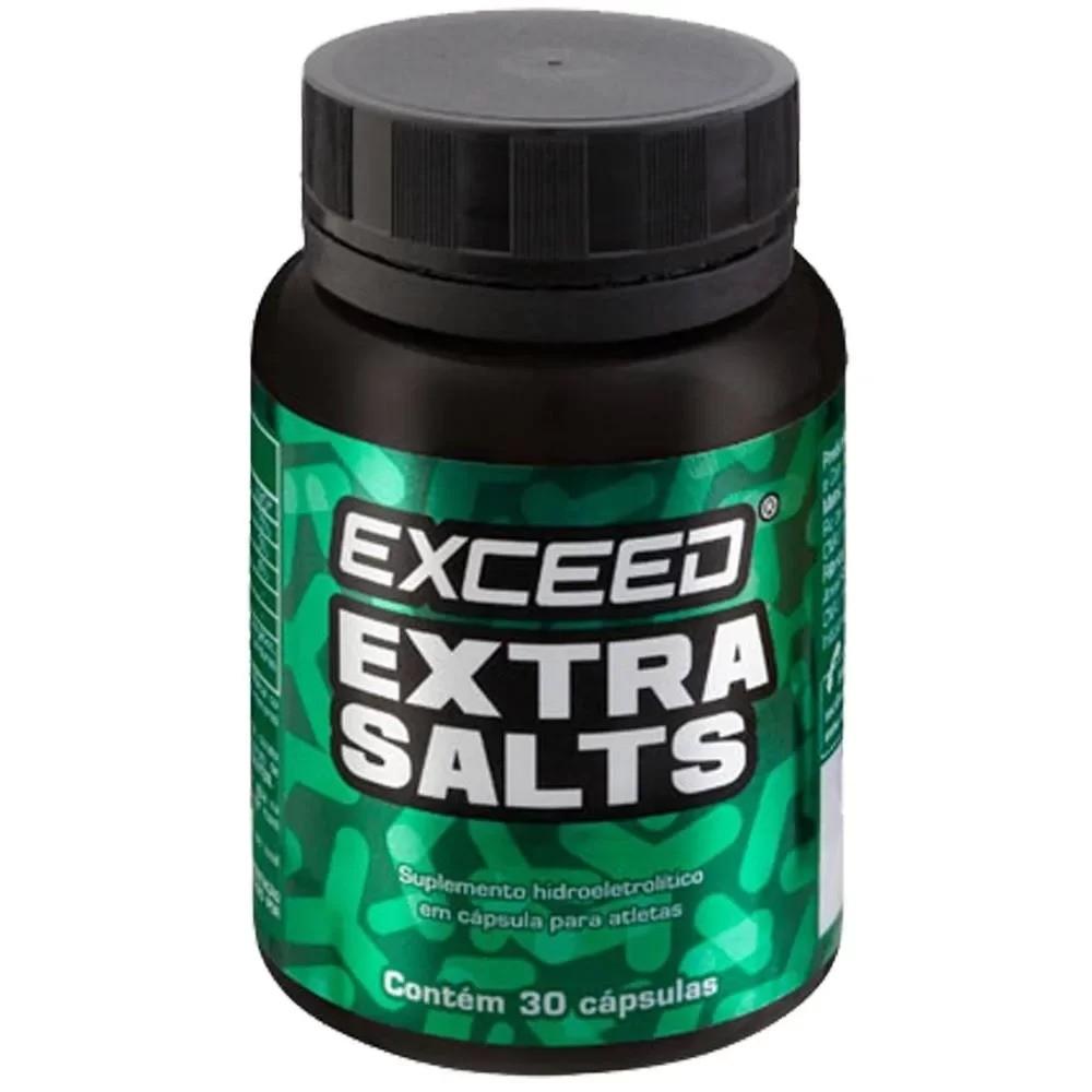 Exceed Extra Salts Cápsulas de Sal 30 Unidades