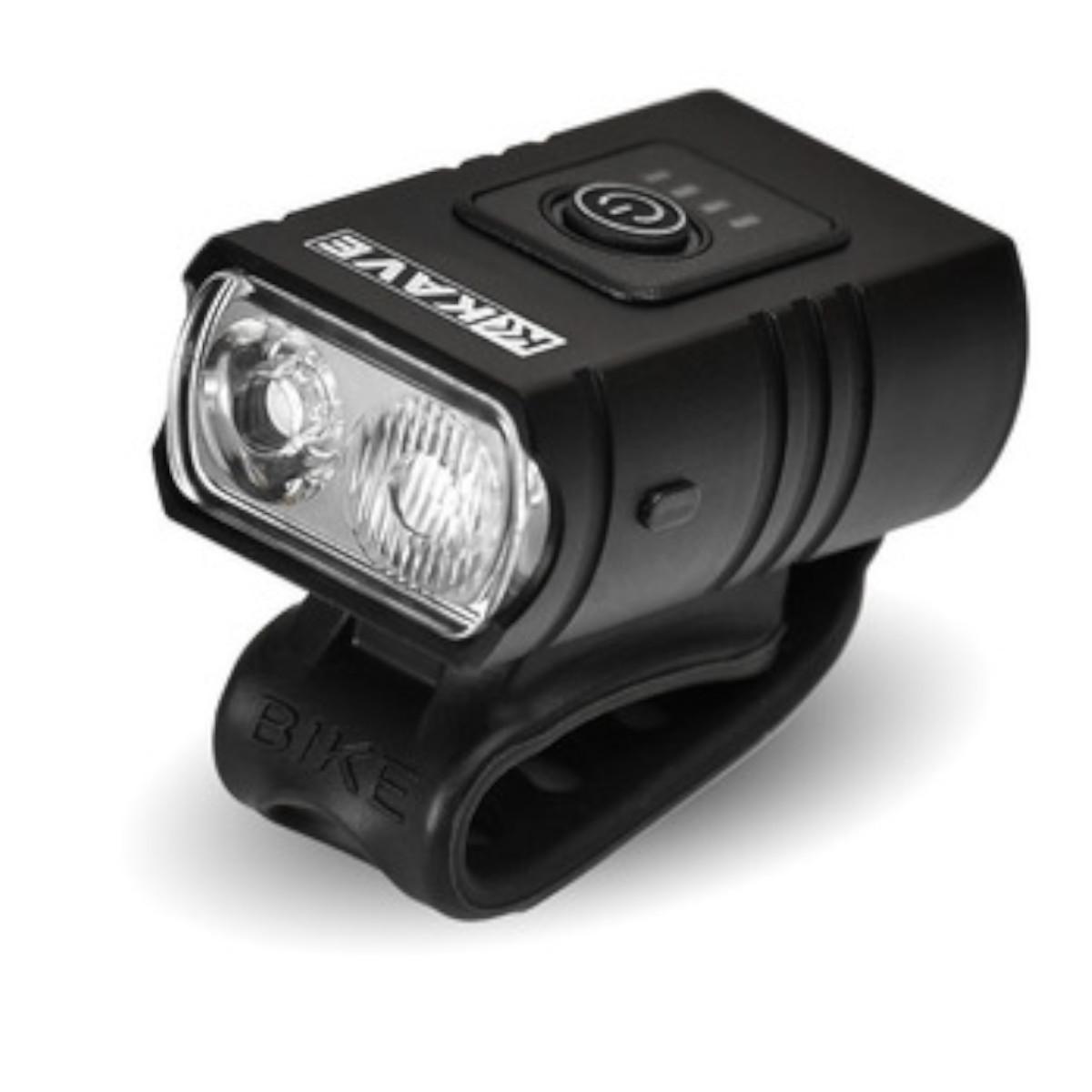Farol Ciclismo MTB Speed Kave 1200 lumens Led USB