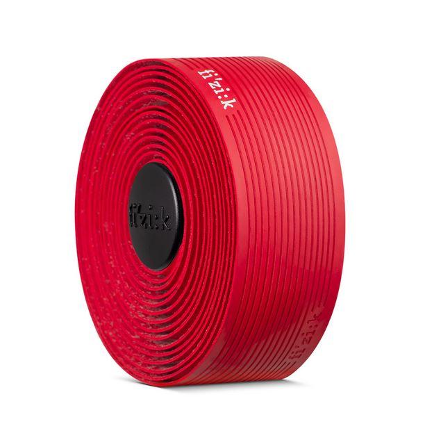 Fita De Guidão Fizik Vento Microtex Tacky Vermelha