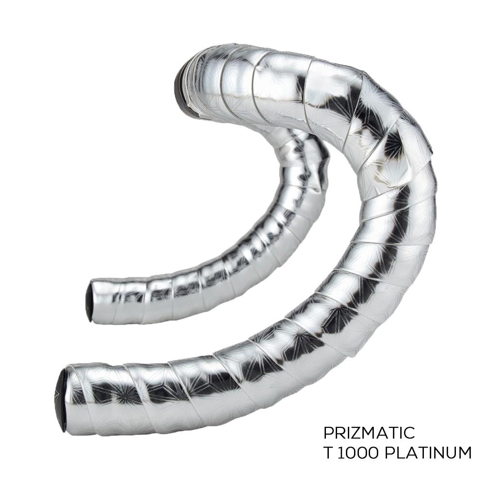 Fita De Guidão Supacaz Prizmatic T1000 Platinum