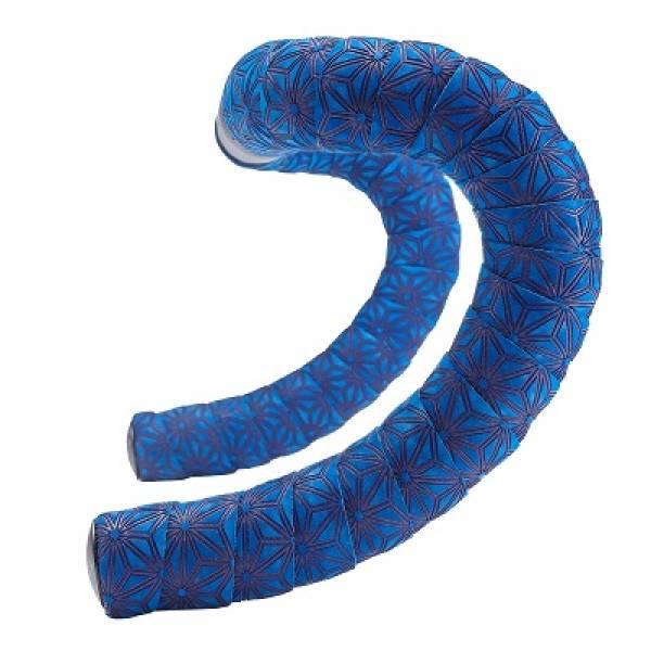 Fita De Guidão Supacaz Suave Tape Blue Velvet Silicone Gel