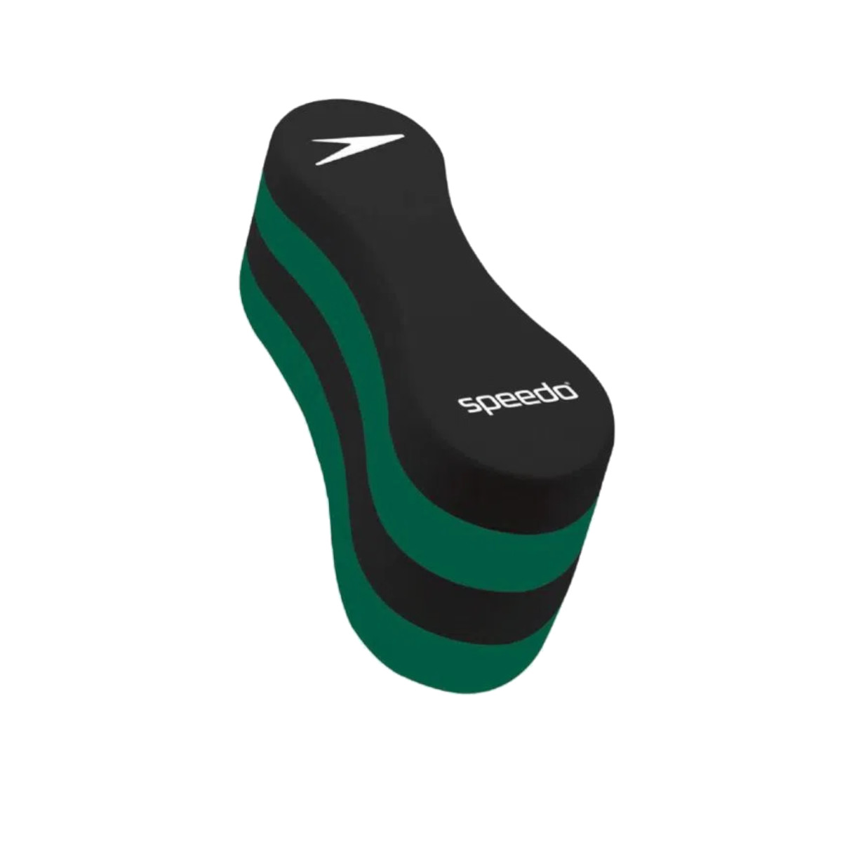 Flutuador Natação Classic Pullbuoy Speedo Preto e Verde