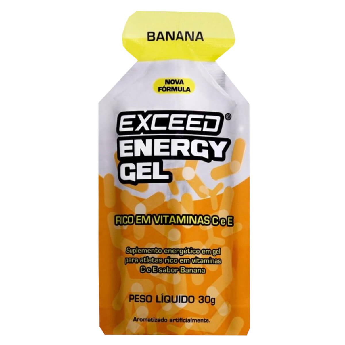 Gel Carboidrato Exceed Energy Banana 30g