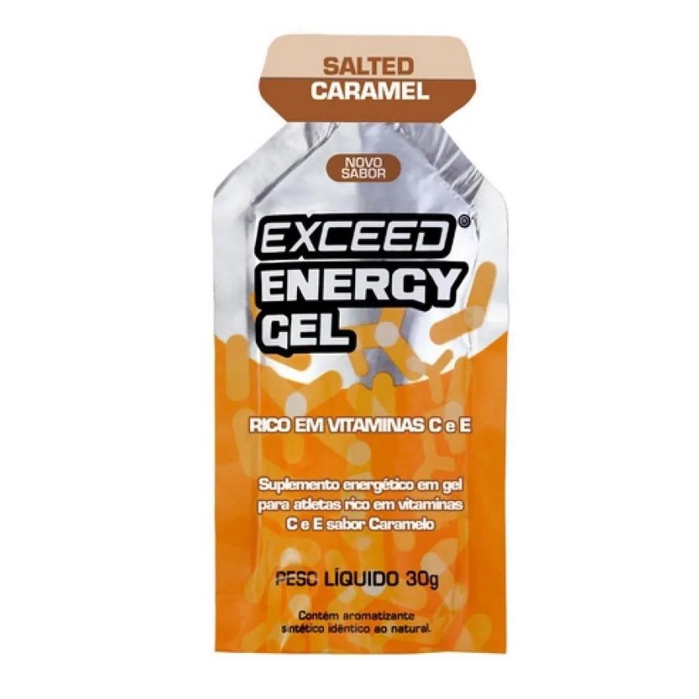 Gel Carboidrato Exceed Energy Caramelo Salgado
