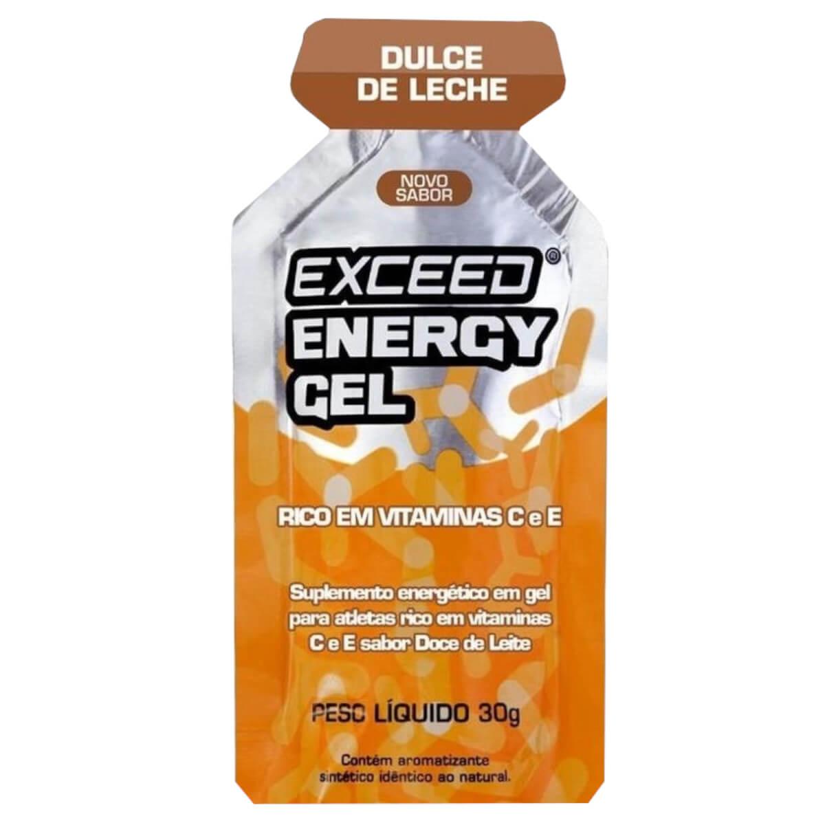 Gel Carboidrato Exceed Energy Doce de Leite 30g