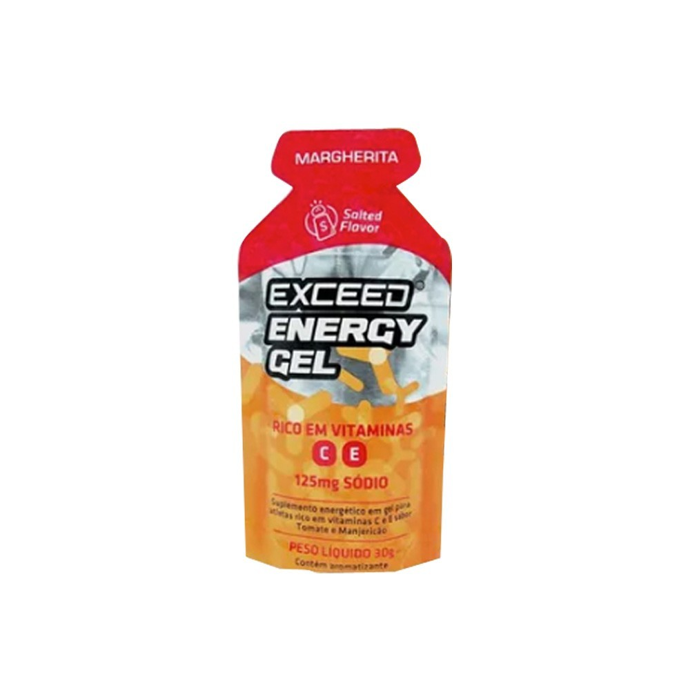 Gel Carboidrato Exceed Energy Novo Sabor