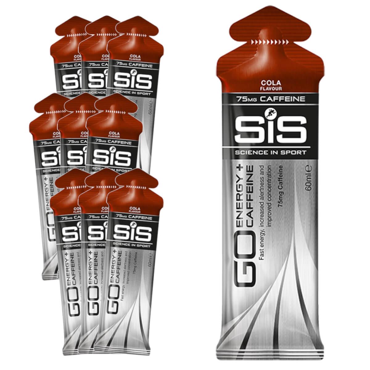 Gel Carboidrato SIS Energy Caffeine Cola 10un